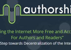 Заработай $10 на открытии нового проекта Authorship!
