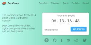 DeckSwap — новое ICO с оплатой за клики!
