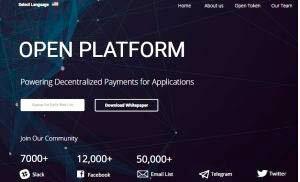 Open Platform —  платформа децентрализованных платежей для приложений