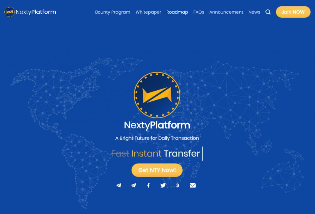 ICO Nexty Platform — баунти кампания